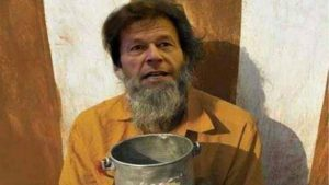 "Searching ""Bhikhari"", getting images of Imran Khan, Pakistan PM, on google"